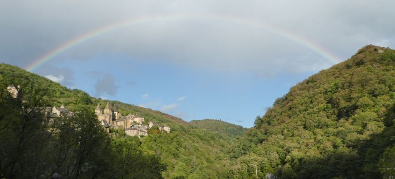 conques rainbow