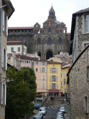 Cathedral dominating town