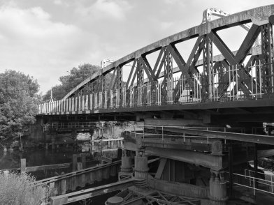 Hayhurst Bridge, Monochrome