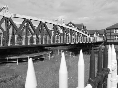 Town Bridge, monochrome