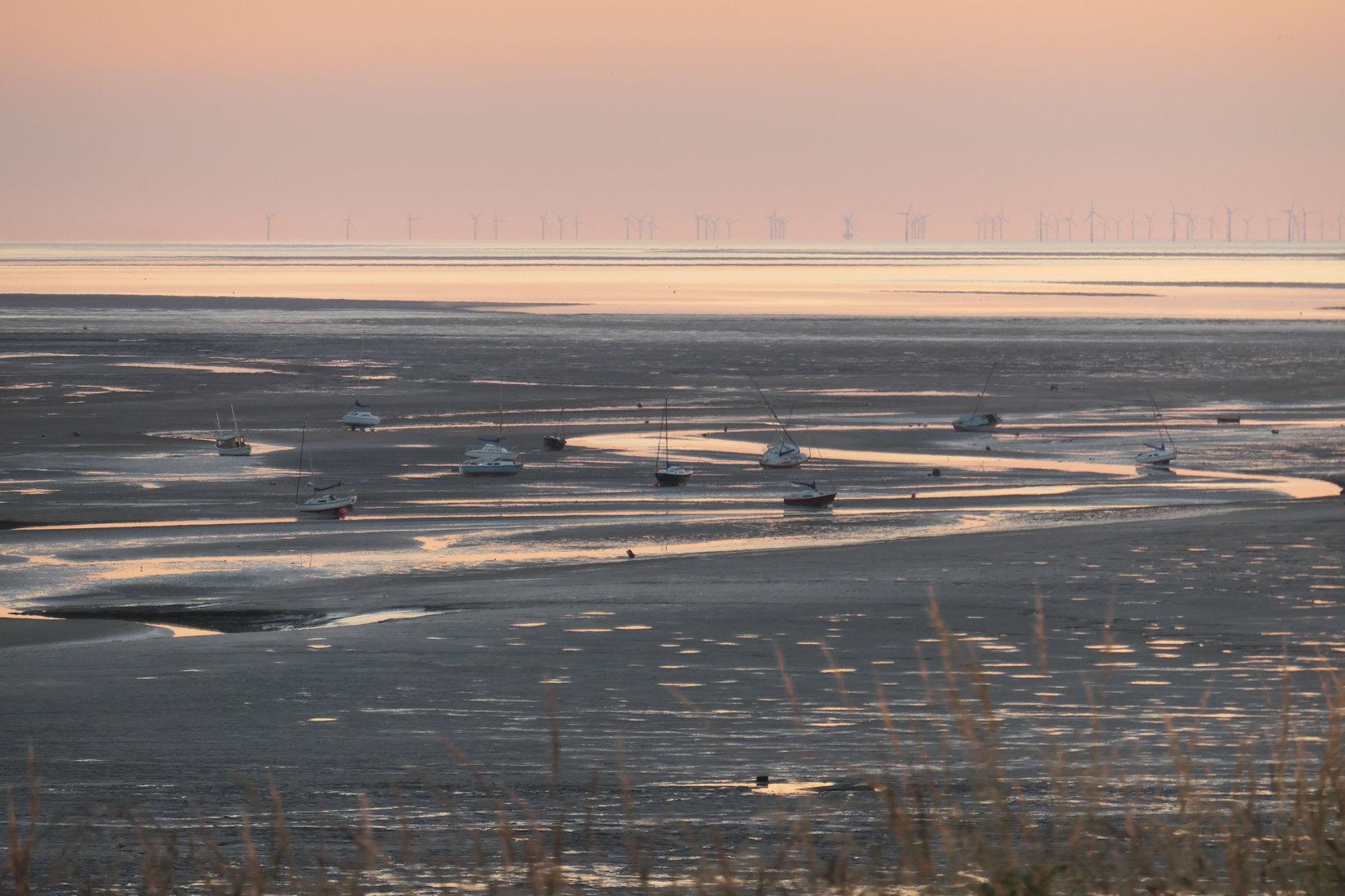dee estuary boats