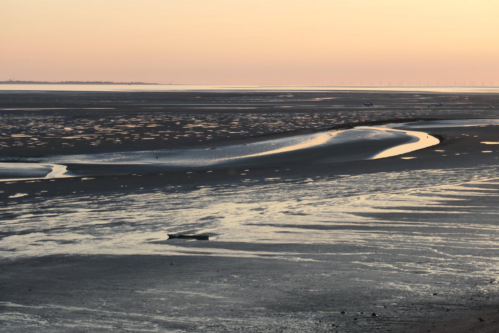 dee estuary evening