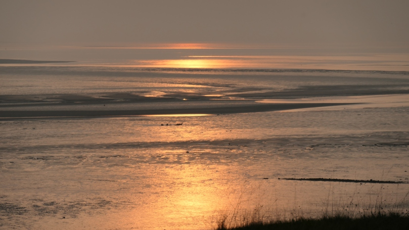 dee estuary sunset 3