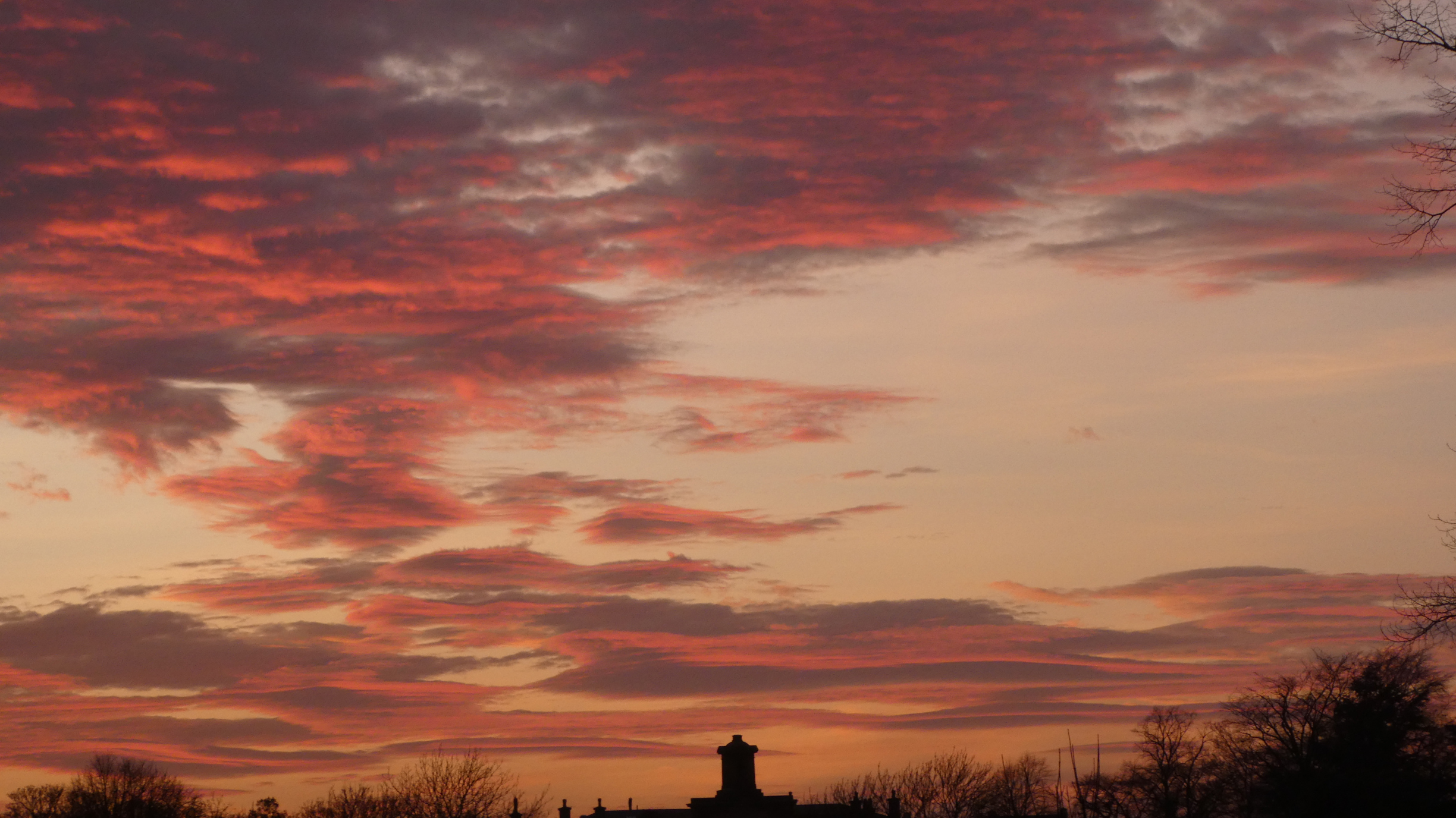 knutsford courthouse sunset